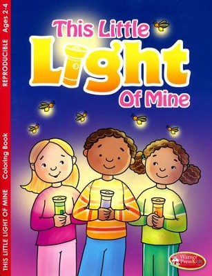 This Little Light of Mine Coloring Books (Ages (2-4)  -