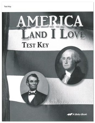 Abeka america land i love tests key christianbook abeka america land i love tests key fandeluxe Image collections