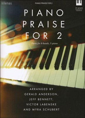 Piano Praise For 2, Keyboard Book  -     By: Various Authors