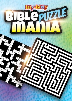 Bible Puzzle Mania Itty-bitty Activity Book  -