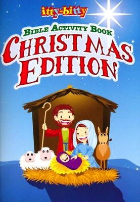 Itty-bitty Bible Activity Book, Christmas Edition  -