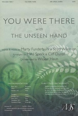 You Were There With The Unseen Hand, Anthem  -     By: Mike Speck, Cliff Duren