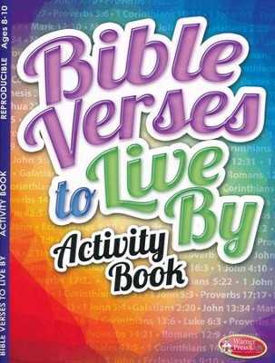 Bible Verses to Live By Activity Book  -