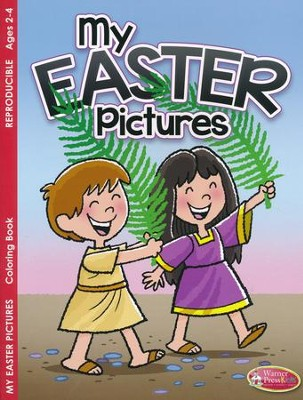 My Easter Pictures- Coloring Book (ages 2 to 4)  -