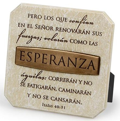 Esperanza, Placa Esculpida  (Hope, Sculpted Plaque)  -