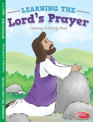 The Lord's Prayer Coloring & Activity Book (ages 5 to 7)  -
