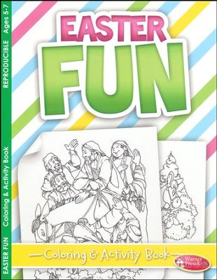 Easter Fun Activity Book (ages 5 to 7)  -