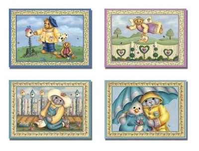 Rainy-Day Friends - Thinking of You Cards, Box of 12  -