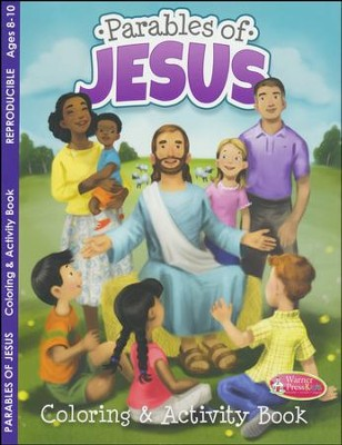 Parables of Jesus Activity Book (ages 8 to 10)  -