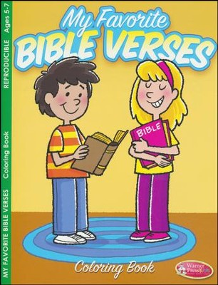 My Favorite Bible Verses Coloring Book (ages 5 to 7)  -