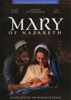 Mary of Nazareth: An Epic Film on the Mother of Christ, DVD   -