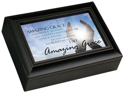 Amazing Grace Music Box  -