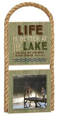 Life Is Better Photo Plaque  -