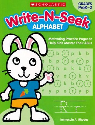 Alphabet: Motivating Practice Pages to Help Kids Master Their ABCs  -     By: Immacula A. Rhodes