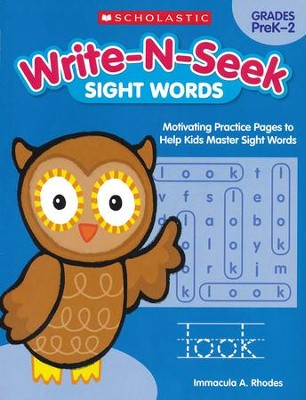 Sight Words: Motivating Practice Pages to Help Kids Master Sight Words  -     By: Immacula A. Rhodes