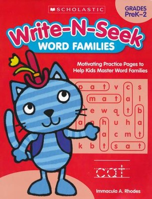Word Families: Motivating Practice Pages to Help Kids Master Word Familes  -     By: Immacula A. Rhodes