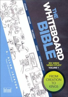 The Whiteboard Bible, Volume #1: Creation To Kings - DVD  -     By: G. Allen Jackson
