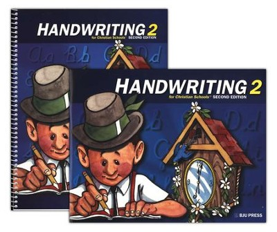 BJU Handwriting Grade 2 Homeschool Kit, Second Edition   -     By: Bob Jones