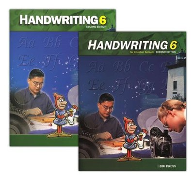 BJU Handwriting 6, Homeschool Kit   -     By: Bob Jones