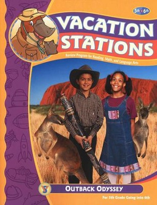 BJU Vacation Stations Book 6: Outback Odyssey Grades 5-6   -