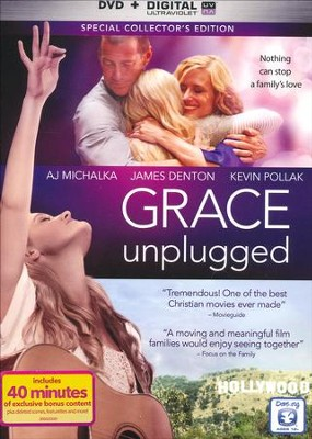 Grace Unplugged: Special Collector's Edition, DVD + Digital Copy   -