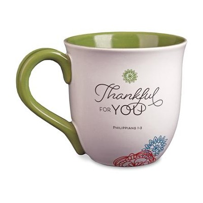 Thankful for You Ceramic Mug  -
