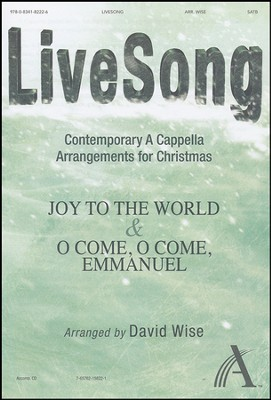 LiveSong-Contemporary A Cappella Arrangements for Christmas (Anthem)  -