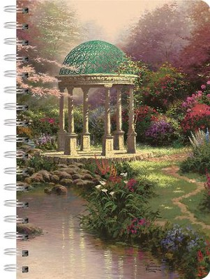 Pools of Serenity Spiral-Bound Journal  -     By: Thomas Kinkade