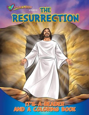 Color and Grow Presents the Resurrection: It's a Reader and a Coloring Book  -     By: Casscom Media