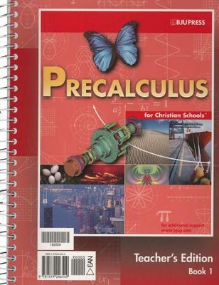 BJU Math 12: Pre-Calculus, Teacher's Edition     -