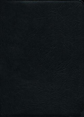 ESV Clarion Reference Bible, Goatskin leather, black  -