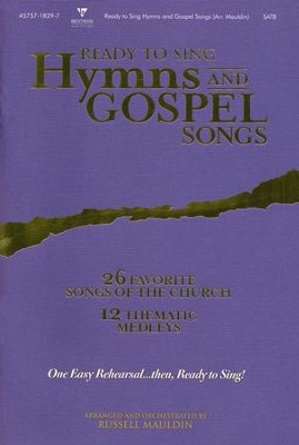Ready-to-Sing Hymns & Gospel Songs   -
