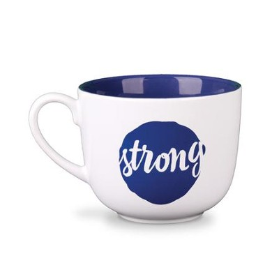 Be Strong and Courageous Mug  -