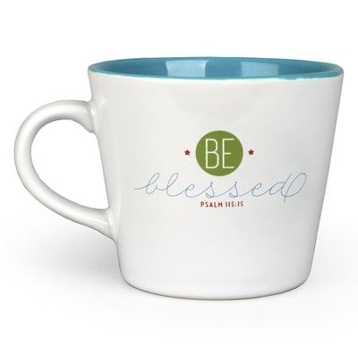 Be Blessed Ceramic Mug  -