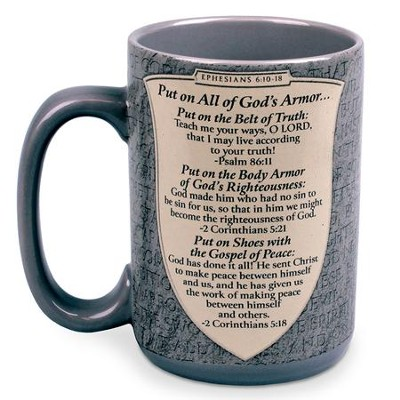 God's Armor--Ceramic Mug   -