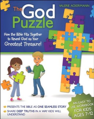 The God Puzzle: How the Bible Fits Together to Reveal God as Your Greatest Treasure  -     By: Valerie Ackerman