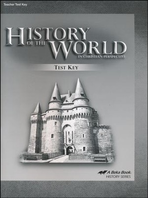 Abeka History of the World in Christian Perspective Tests  Keys (5th Edition)  -
