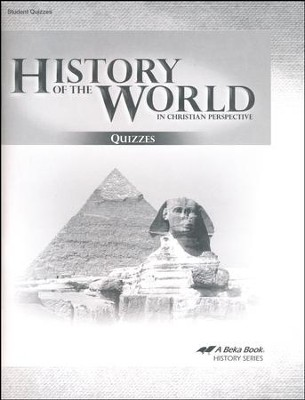 Abeka History of the World in Christian Perspective Quiz  Book (5th Edition)    -
