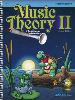 Abeka Music Theory 2 Teacher's Edition (Grades 4 & 5)  -