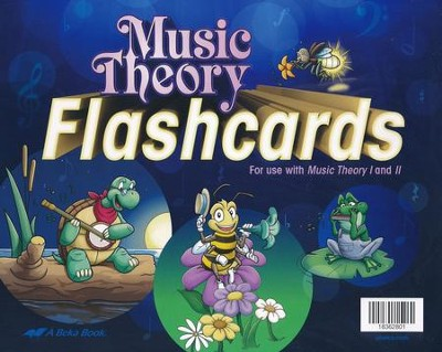 Abeka Books 1 & 2 Flash Cards   -