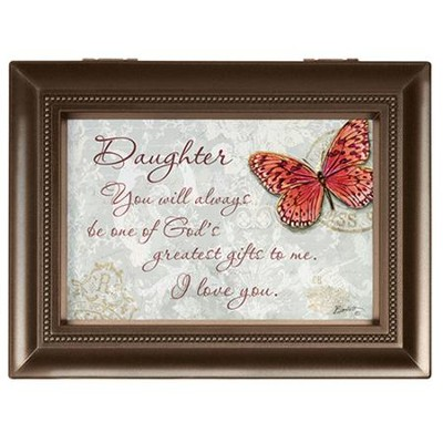 Daughter, You Will Always Be One Of God's Greatest Gifts Music Box  -