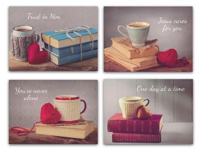 Cup of Comfort Encouragement Cards, Box of 12  -