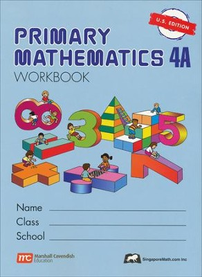 Singapore Math: Primary Math Workbook 4A US Edition   -