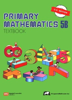 Singapore Math: Primary Math Textbook 5B US Edition   -