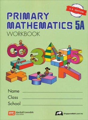 Singapore Math: Primary Math Workbook 5A US Edition   -
