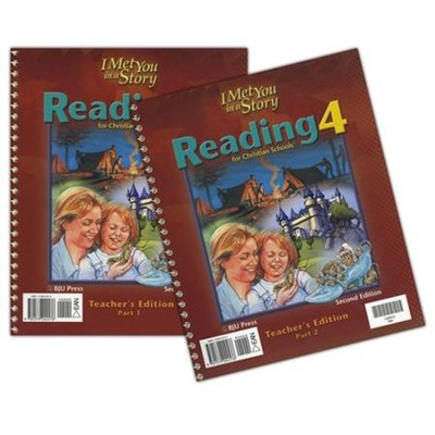 BJU Reading Grade 4 Teacher Set    -