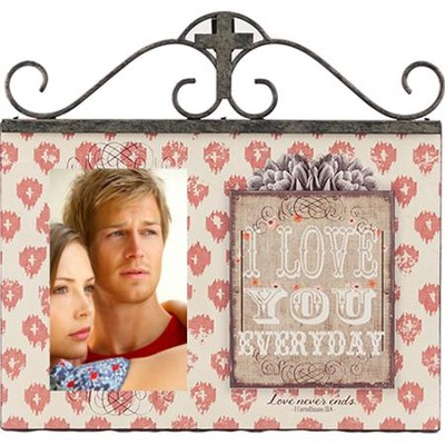 I Love You Everyday Photo Frame  -