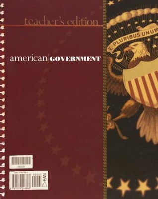 BJU American Government Grade 12 Teacher's Edition (2nd Edition)    -