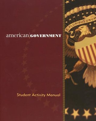 BJU American Government (Second Edition), Grade 12  Student Activity Manual  -