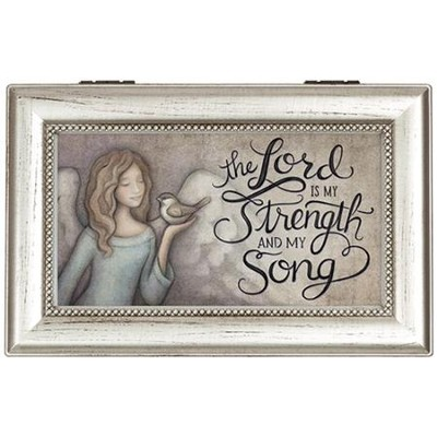 The Lord Is My Strength and My Song Music Box  -